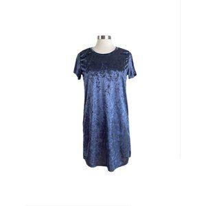 ! 5/$25 ! ACTING PRO Crushed Velvet Tunic Dress